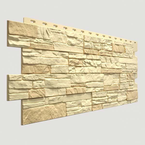 Фасадная панель STEIN, янтарный